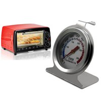 Wholesale 1PC Staineless Steel Home Kitchen Cooking Tools Food Meat Cooking Temperature Gauge Oven Thermometer