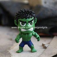 Wholesale The Avengers Super Heroes Hulk Q Version PVC Action Figure Collectible Toy quot CM HRFG323