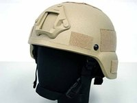Wholesale MICH TC ACH HELMET WITH NVG MOUNT TAN Sports helmet cycling helmet military helmet
