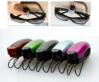 car sunglasses clip - 300pcs ABS Plastic Car Sunglasses Eyeglasses Clip Clipauto Fastener Visor Sun Glasses Auto Accessories Car Vehicle Accessory Holder Clip