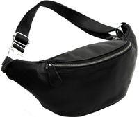Wholesale Vintage Black Waist Bags Casual Outdoor Genuine Leather Cowhide Men Men s Belt Waist Bag Pack Packs Clutch Chest Bags Coffee