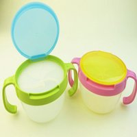 Wholesale 2016 Kids Snack Bowl Sweets Biscuits Cup Bowl Container Leak proof BPA Free New Arrival Promotion