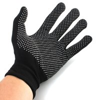 Wholesale New Arrival Black Color Pair Hair Straightener Perm Curling Hairdressing Heat Resistant Finger Glove Kitchen Glove
