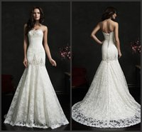 adora wedding dress - Mermaid Wedding Dresses Sweetheart Sleeveless Adora Bridal Gowns Amelia Sposa KR Sleeveless Crystal Beaded Embroidery Lace Up Back