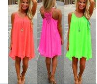 bohemian clothes - Summer dress chiffon female women dress summer style vestido de festa sundress plus size women clothing robe beach dress