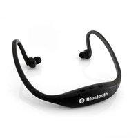 Compra Altoparlantes-Universal S9 banda para el cuello Auriculares estéreo libres deportes del altavoz de Bluetooth Wireless Headset En la oreja los auriculares de alta fidelidad reproductor de música 010203