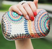 Wholesale Sequins Colorful Bridal Hand Bags Evening Party Clutches Wedding Bridal Clutches Wedding Accessories In Stock High Quality ZYY