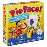Wholesale Running Man Pie Face Game Pie Face Cream On Her Face Hit The Send Machine Paternity Toy Rocket Catapult Game Consoles