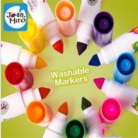 bear paint colors - 5pcs hot selling colors watercolor painting pen washable non toxic children s watercolor pen educational toys