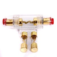Wholesale New Car Audio Refit Fuse Holder And Gauge Wire With AMP Fuses
