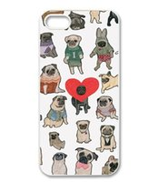 appel phone - Treasure Design Funny Pugs HARD mobile phone cases for APPEL IIPHONE S