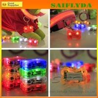 Wholesale LED dog pendant flash dog tag pet charms Dog accessories led dog Pendant