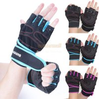 Wholesale Outdoor Sports Fitness Gloves Military Weight Lifting Exercise Bike Cycling Gloves Half Finger Gloves Drop Shipping SV001937