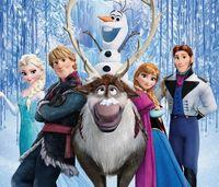 Wholesale Frozen Figure Play Set Frozen Princess Anna Elsa figure set movie Cartoon Anime princess doll toy Drop shipment