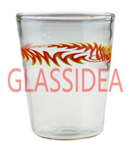 Wholesale 2016 Arts unique water glass hand made colorful decor glass water cups coffee mugs or for candle holder