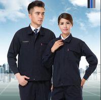 Wholesale Long sleeve work wear set male and female set work wear work wear protective clothing uniform