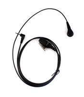Wholesale High Quality One PIN Noise Reduction Covert Acoustic Tube Earpiece for Motorola Radios mm jack T6200 T6210 T6220 T6250
