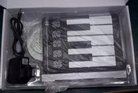 Wholesale 50pcs Keys Flexible Hand Roll Digital Piano It s a Soft Keyboard Piano with Free Power adapter