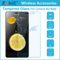 Cheap tempered glass mirror screen protector Best For Lenovo K3 NOTE Tempered Glass