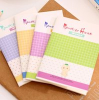 baby notepads - New Cartoon Monster Baby series MINI notebook Notepad Memo pads dandys