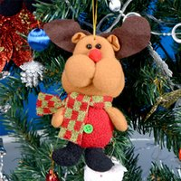 artificial trees china - 5pcs Mini Elk Dolls Hanging On Tree Merry Christmas Decoration Supplies Decorations China For Home Decor And Trees Artificial