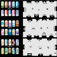 airbrush fingernails - Airbrush Fingernail Nail Art Paint Stencil Kit Design Air Brush Patterns Set No Animals Peoples Natures