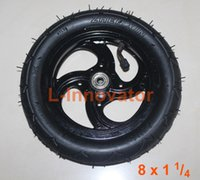 alloy wheels tires - Inch Wheel For Kick Scooter MM Wheel With Aluminium Alloy Hub TOWN Scooter Pneumatic Tire With Inner Tube E scooter wheels