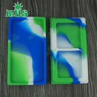 better oil - 10 pieces DHL bho silicone wax mate silicone jar dab wax container better quality silicone container for wax oil dabber tool