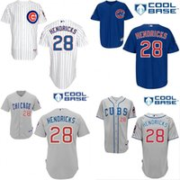 arrival chicago - 2015 NEW Arrival Authentic Mens Chicago Cubs Jerseys Kyle Hendricks Baseball Jersey stitched Embroidery logos Size S XL