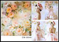 beautiful wedding photography - 6 FT x300CM Custom Wedding Backgrounds Photography Backdrops Beautiful Flowers Fonds Fotografia Thin Vinyl Backdrops For Photography