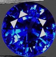 Wholesale Charming ct AAA Natural Blue Zircon mm Round Cut VVS Loose Gemstones