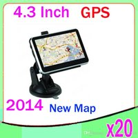 Wholesale DHL Hot inch waterproof motorcycle GPS navigator ZY DH