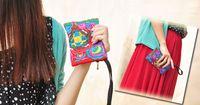 Wholesale Good quality branded Cheap Hot Selling Women Wallet women purse lady wallet cotton zipper colorful purse