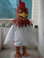 Wholesale New Professional New Rooster Cock Fancy Dress Mascot Costume Adult Size Valentine s Day Thanksgiving Day Christmas Halloween