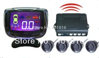 Cheap Car Reverse Camera Wireless Parking Sensor Alarm Kit With LCD Monitor DT500-W freeshipping