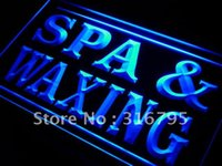 beauty sign - i382 b Spa and Waxing Beauty Salon LED Neon Light Sign wholeselling Dropshipper