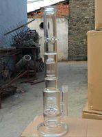 bamboo forks - Birdcage bamboo fork glass filter Hookah color random delivery glass hookah glass bongs large better
