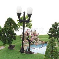 Wholesale New Mini Streetlights Miniature Garden Ornament for Plant Pots Fairy Crafts Decor