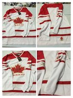 Cheap Mens Blank No Name No Number White 2010 Canada Team Vancouver Winter Olympic Hockey Jerseys Ice International Sports Stitched Premier