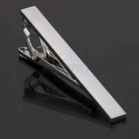 clip tie clip - S Men Metal Necktie Tie Bar Clasp Clip Clamp Silver Tone Simple Formal Tie Clips