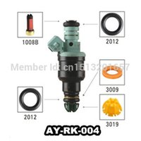 Wholesale AY RK Fuel injector repair kit including fuel injector filter o ring plastic washer pintle cap fit for bmw car