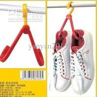 Wholesale Portable folding shoes hook hook hanging clothes drying shoes creative hook shoe rack kitchen hanging debris multifunctional hanger
