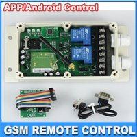 auto relay box - GSM Remote Control System Relay Control Channel GSM AUTO SMS Remote Controller Relay Two Output Contacts Switch Box Quad Band