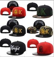 Wholesale Hot more style Hater snapbacks caps hip pop sport caps team logo last TMT lastkings snapback hats the best price