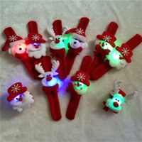 Wholesale Emmani christmas ornaments christmas gift Wrist Strap Watch Bracelet Christmas Supplies Decoration Gift for kids Santa Claus Snowman Deer