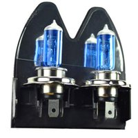 Wholesale New H4 K Xenon Car HeadLight Bulb Halogen Light Super White V W Hrs Life
