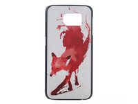 animal print phone case - For Samsung Galaxy S6 A5 A7 Phone Cases PC Cases Cover With Smile Words Animal Printed Cases