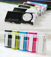Wholesale MP3 Player w LCD Screen Colorful Sport Mini Clip Music Mp3 Players wxq62