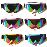 Wholesale motocross helmet goggles gafas moto cross dirtbike motorcycle helmets goggles glasses skiing skating eyewear