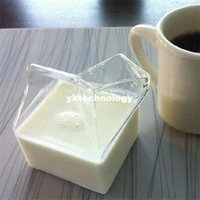 beer pitchers - Mini House Shape Glass Milk Pot Coffee Creamer Cup Mug Bottle Pitcher Liquid Container Home Drinkware